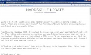 MADDSKILLZ Update (January 05)