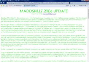 MADDSKILLZ Update (January 06)