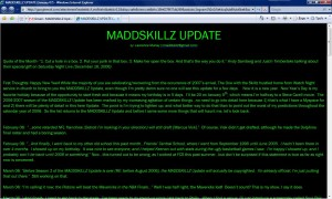 MADDSKILLZ Update (January 07)