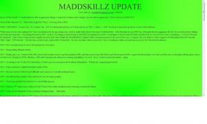MADDSKILLZ Update (January 2010)