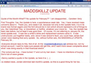 MADDSKILLZ Update (February 04)