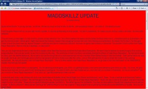 MADDSKILLZ Update (February 07)