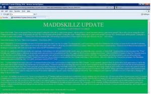 MADDSKILLZ Update (February 2010)