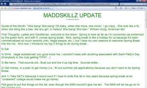 MADDSKILLZ Update (March 04)