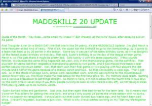MADDSKILLZ Update (March 05)