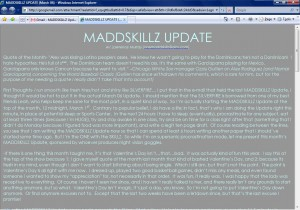 MADDSKILLZ Update (March 06)