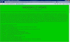 MADDSKILLZ Update (March 07)