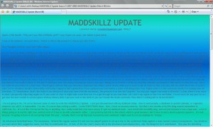 MADDSKILLZ Update (March 08)