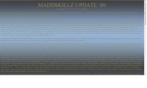 MADDSKILLZ Update (March 2010)