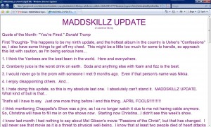 MADDSKILLZ Update (April 04)