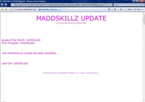 MADDSKILLZ Update (April 05)