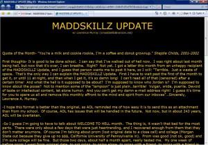 MADDSKILLZ Update (May 05)