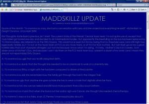 MADDSKILLZ Update (May 06)