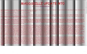 MADDSKILLZ Update (May 09)