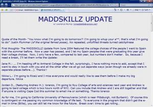 MADDSKILLZ Update (June 05)