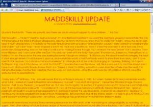 MADDSKILLZ Update (June 06)