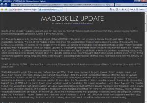 MADDSKILLZ Update (July 06)