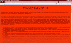 MADDSKILLZ Update (July 07)
