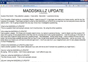 MADDSKILLZ Update (August 03)