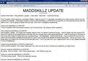 MADDSKILLZ Update (August 03)