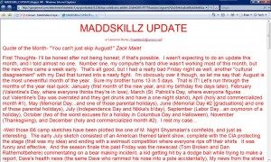 MADDSKILLZ Update (August 04)