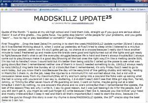 MADDSKILLZ Update (August 05)