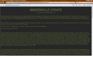 MADDSKILLZ Update (August 07)