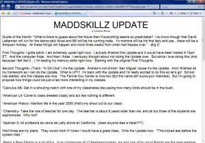 MADDSKILLZ Update (October 03)