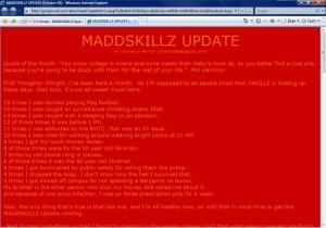 MADDSKILLZ Update (October 05)