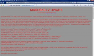 MADDSKILLZ Update (October 06)