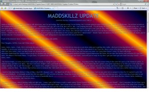 MADDSKILLZ Update (October 07)