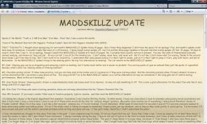 MADDSKILLZ Update (October 08)