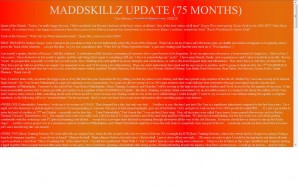 MADDSKILLZ Update (October 09)