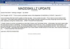 MADDSKILLZ Update (September 03)