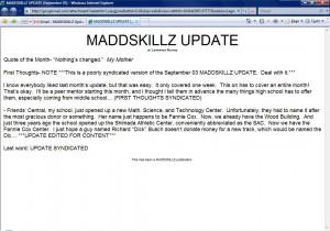 MADDSKILLZ Update (September 03)