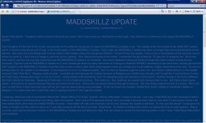 MADDSKILLZ Update (September 06)