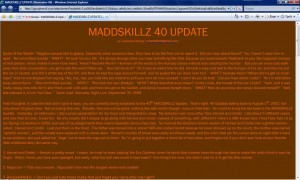 MADDSKILLZ Update (November 06)