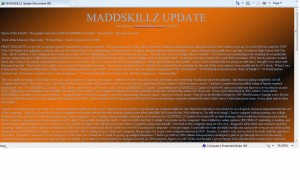 MADDSKILLZ Update (November 09)