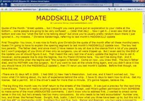 MADDSKILLZ Update (December 05)