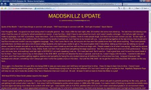 MADDSKILLZ Update (December 06)