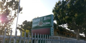Drew Middle School, the original location of the Drew League.