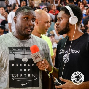 """Vince Camper, aka """"The Body Snatcher"""", won the Drew League MVP award in 2015, suiting up for I Can All-Stars."""