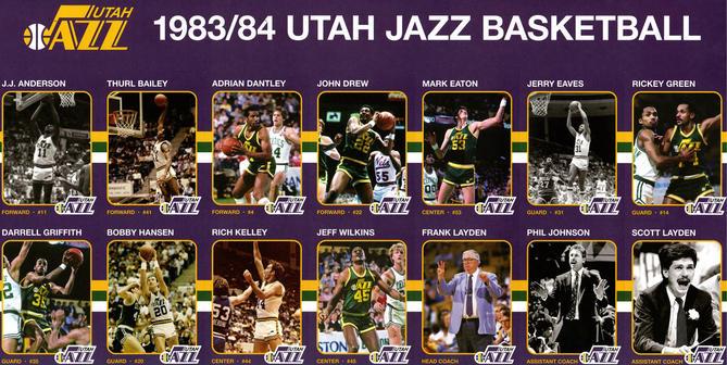The 1980s Utah Jazz
