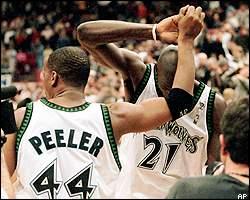 The Late 1990s Minnesota Timberwolves