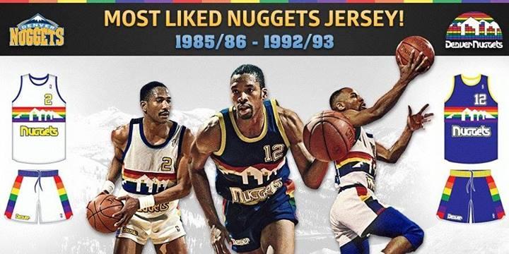 The 1980s Denver Nuggets