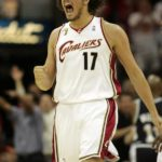 Golden State C Anderson Varej?o began his career and this season with the Cleveland Cavaliers, appearing in the 2007 NBA Finals. This NBA Finals will be his first games against the Cavaliers in his 12-year NBA career. (PC: John Kuntz/Plain Dealer)