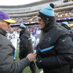 When the Vikings beat the Panthers in November 2014, the Panthers dropped to 3-8-1. Since then, they have won 23 out of 27 games. (AP Photo/Ann Heisenfelt)