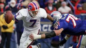 The last time the Bills swept the Patriots was in 1999 - which is also the last time the Bills made the playoffs. (Mark E. Johnson/AFP/Getty Images)