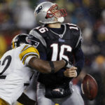 In 2008, the Steelers had the pleasure of going on the road to New England and feasting on Tom Brady's sub at QB, Matt Cassel. In 2016, the Patriots have a chance to return the favor in Pittsburgh with QB Landry Jones starting in place of the injured Ben Roethlisberger. (AP Photo/Winslow Townson)