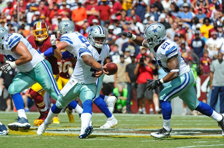 The NFL-best Cowboys are led by rookies QB Dak Prescott and RB Ezekiel Elliott - and they're better now than they were against Washington in Week 2.  (Brad Mills-USA TODAY Sports)